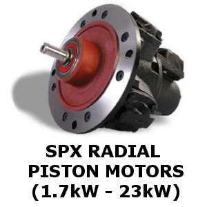 Radial Piston Air Motors
