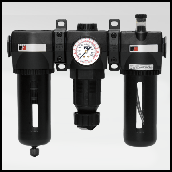 MD4 Series Pneumatic FRL - Ross Controls