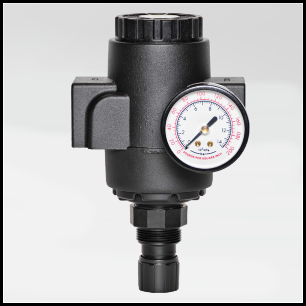 High Capacity Pneumatic Precision Regulator - Ross Controls
