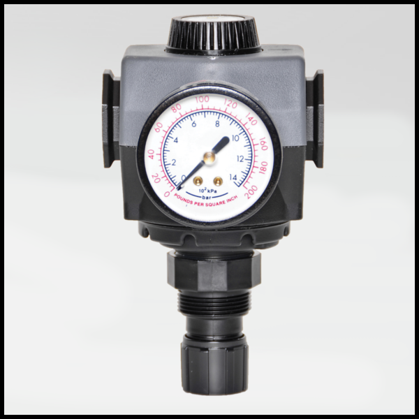 MD4 Series Pneumatic Precision Regulator - Ross Controls