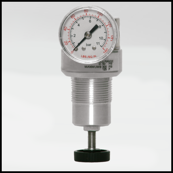 Miniature Series Pneumatic Precision Regulator - Ross Controls