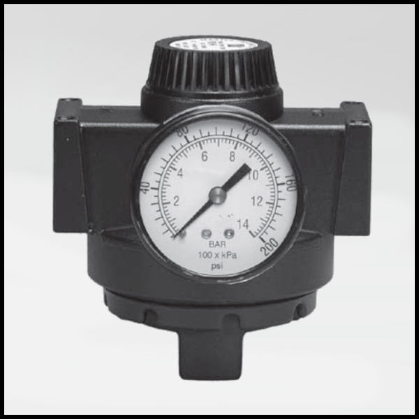 Full-Size High Relief Remote Pilot Regulator