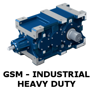 STM GSM industrial heavy duty gearbox