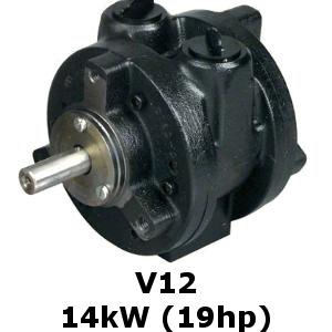 V12 Vane Air Motor Macscott Bond Ltd Loanhead