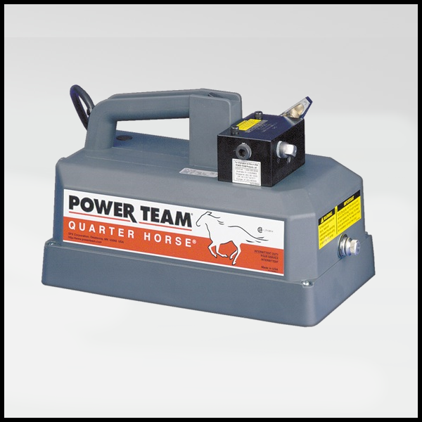 Power Team Battery Driven Hydraulic Pumps