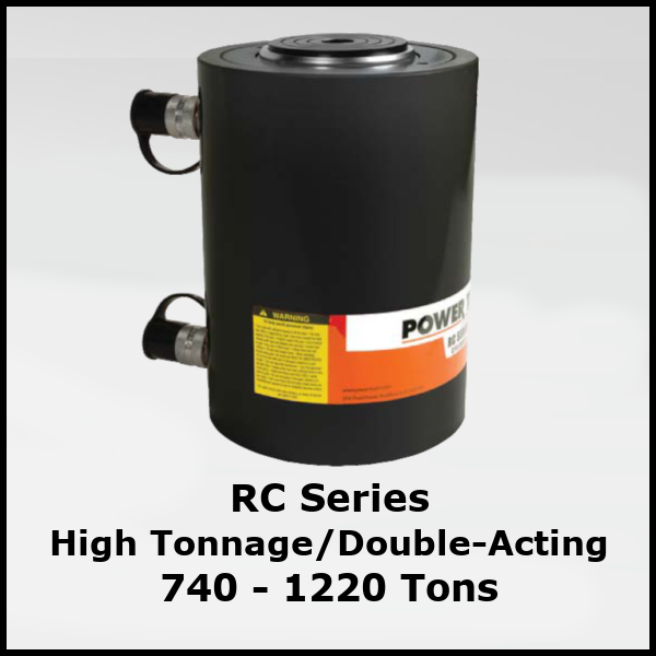 RC Series Double-Acting Hydraulic Cylinders