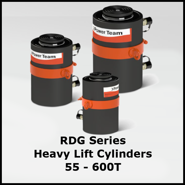 RDG Series Heavy Lift Hydraulic Cylinders