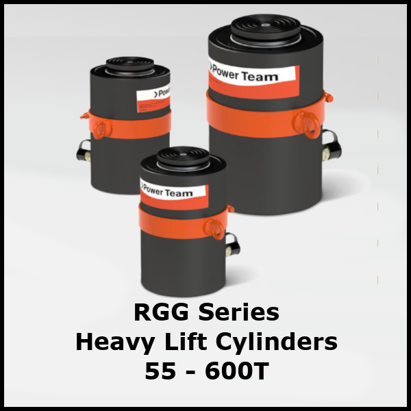 RGG Series Heavy Lift Hydraulic Cylinders