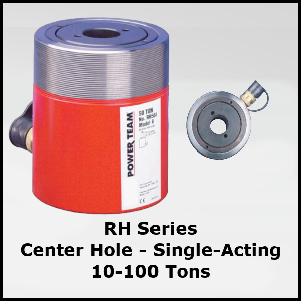 RH Series Hydraulic Cylinder Single Acting