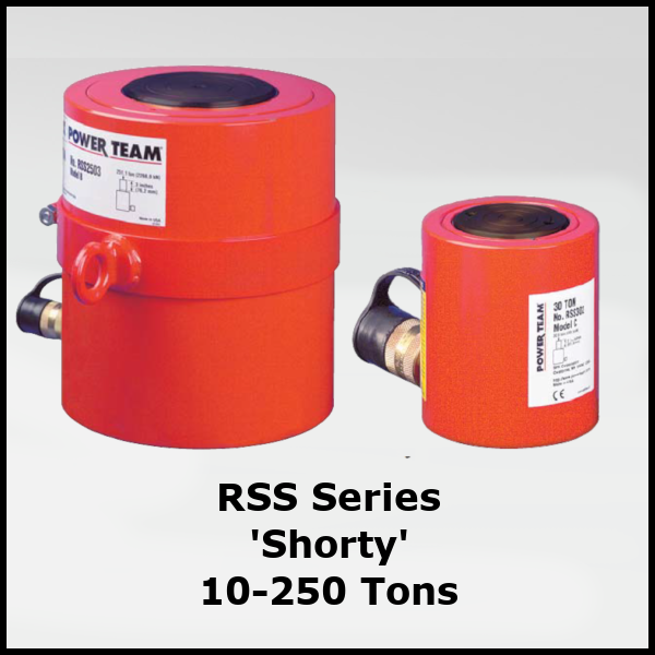 RSS Series Shorty Hydraulic Cylinders