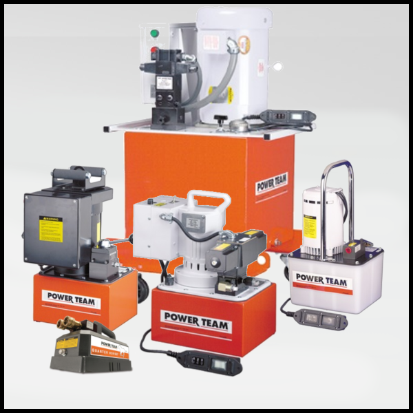 Power Team Electric Powered Hydraulic Pumps