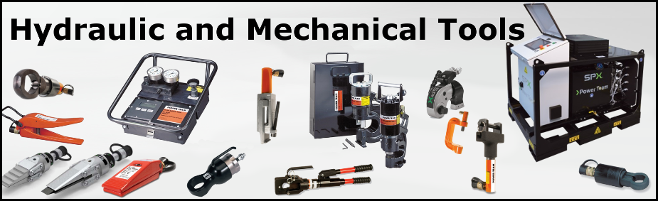 Power Team Hydraulic and Mechanical Tools