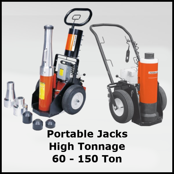 Portable High Tonnage Jacks
