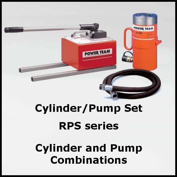 Cylinder and Pump Combinations