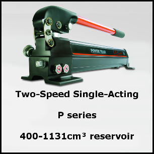 P59L - Two Speed Single Acting Hand Pumps