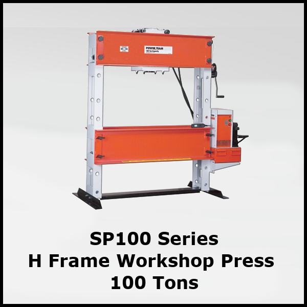 SP100 Workshop Press 100 Ton