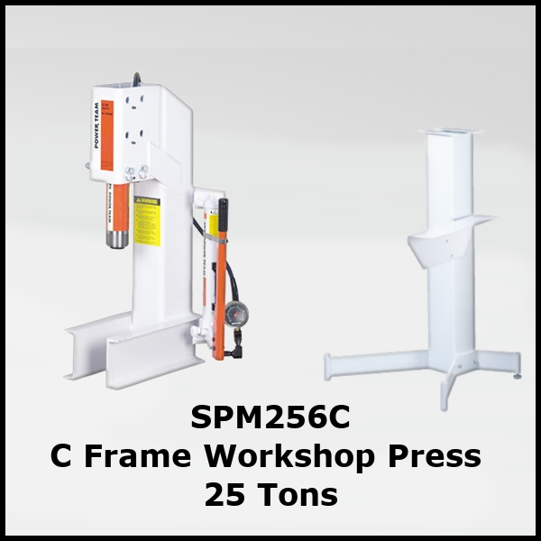 SPM256C Workshop Press 25 Ton C Frame