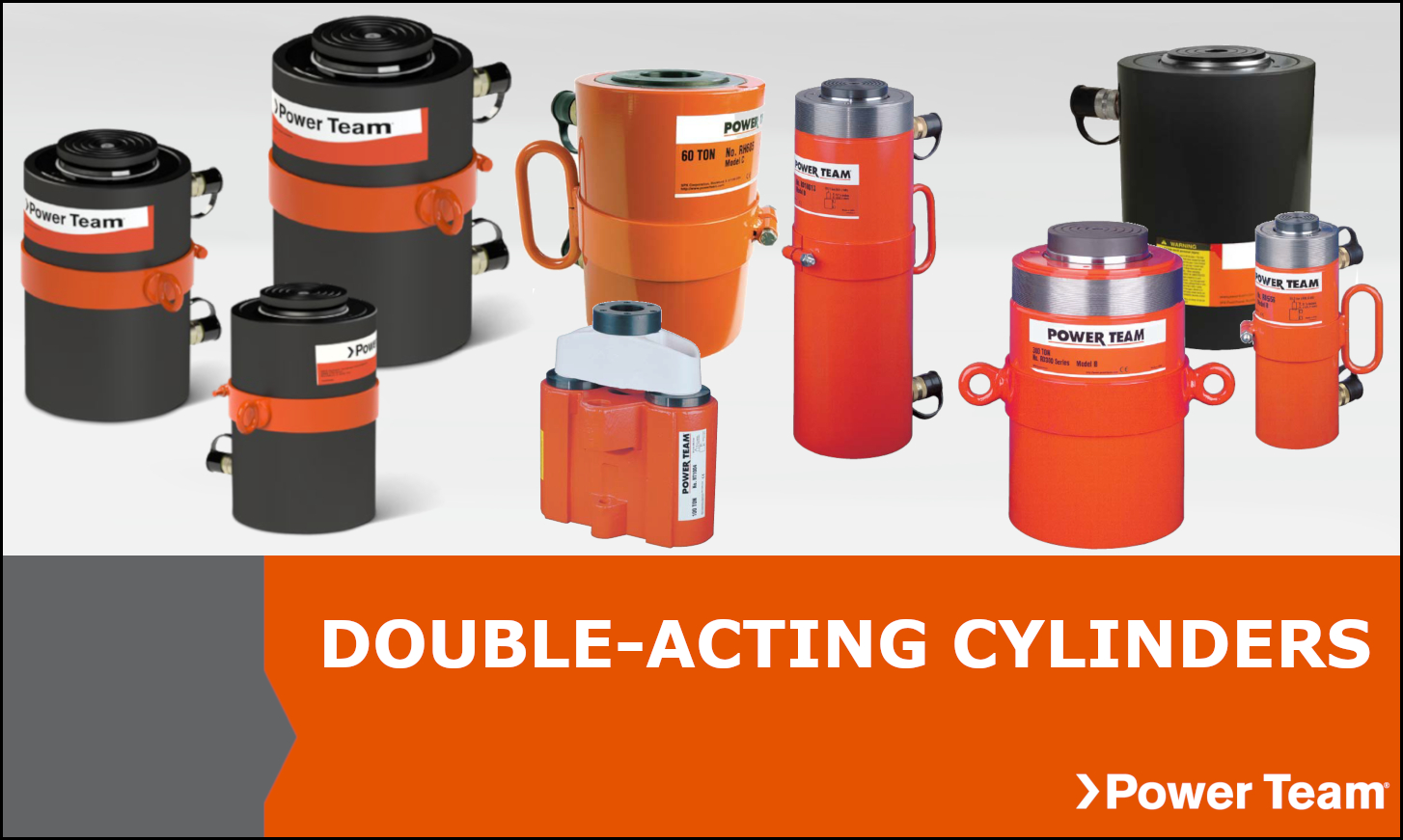 Double Acting Power Team Cylinders