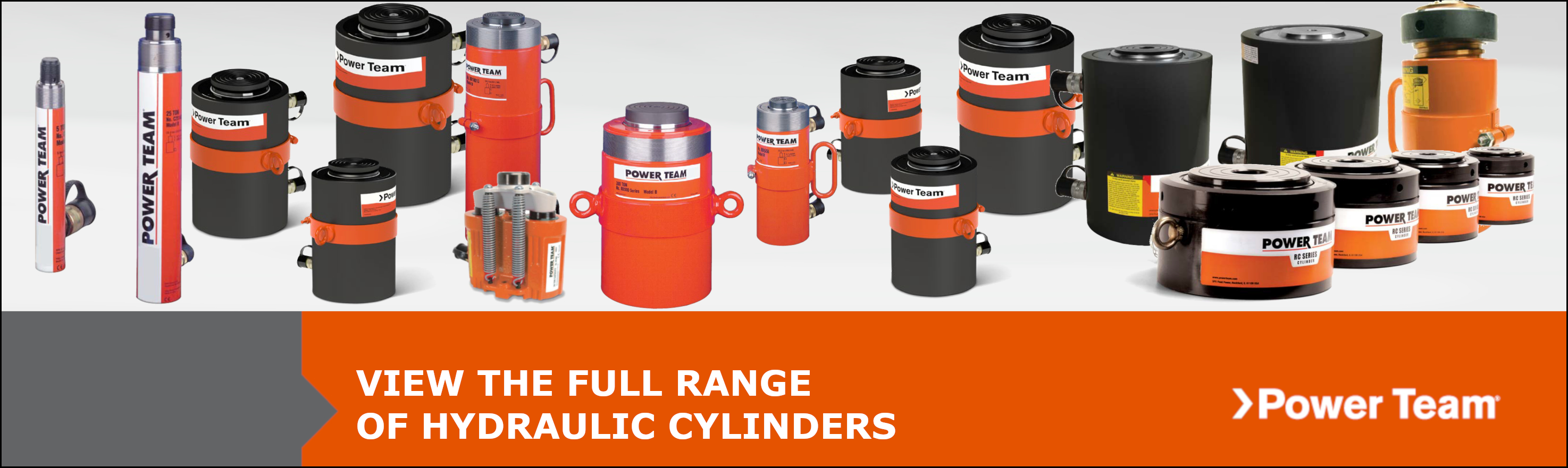 Full Range Power Team Cylinders