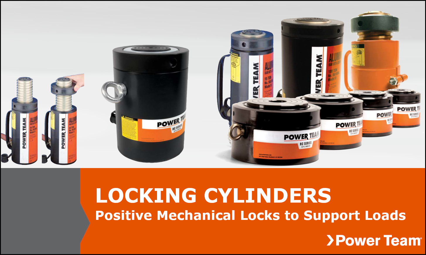 Locking Collar Power Team Cylinders