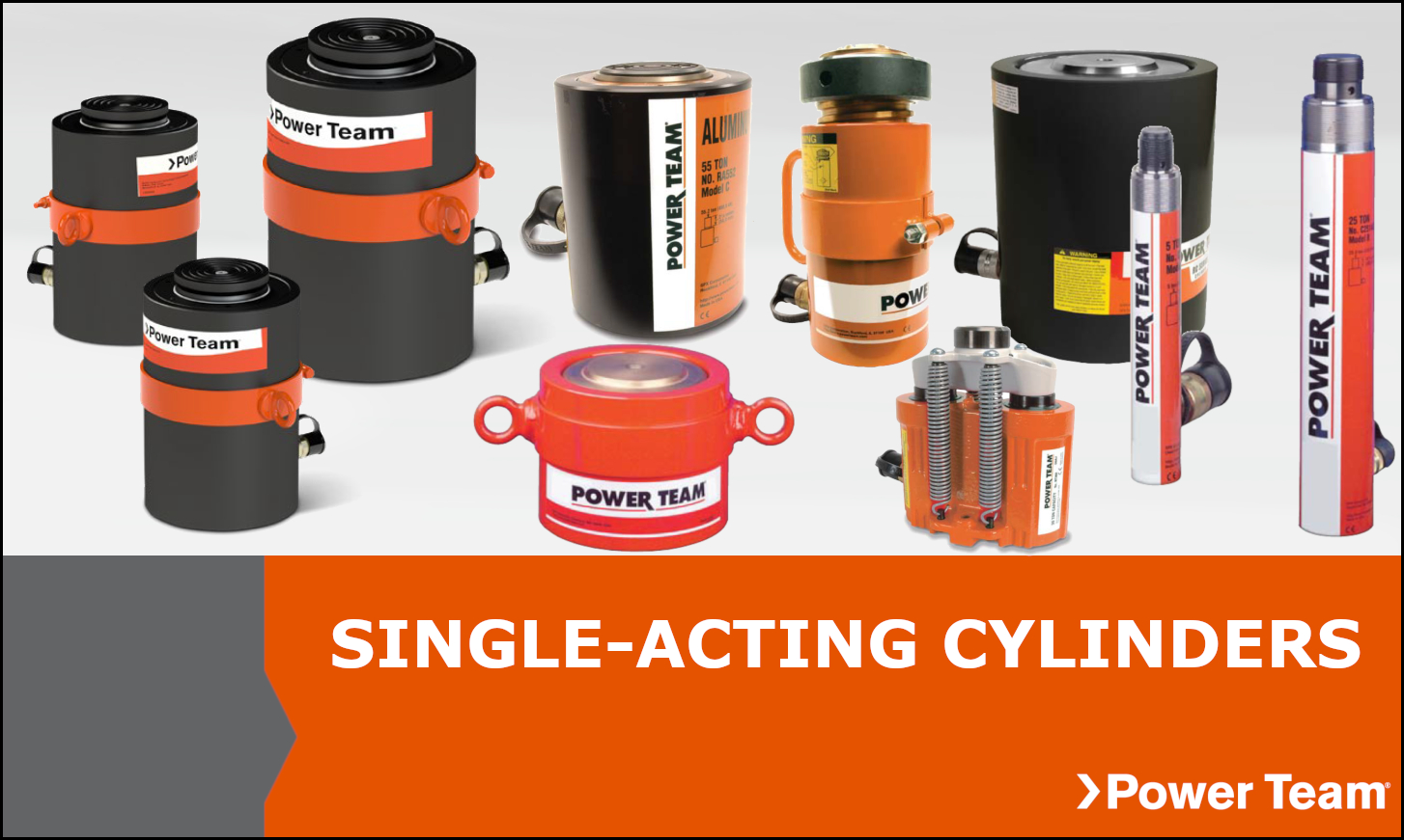 Single Acting Power Team Cylinders