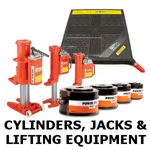 Power Team Cylinders, Jacks and Lifting Equipment