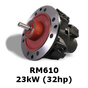 RM610 Radial Piston Air Motor